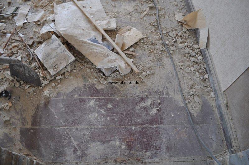 Altzustand Fußboden